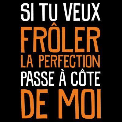 Tablier de cuisine Si tu veux frôler la perfection passe à côte de moi by Shirtcity: Amazon.fr: Vêtements et accessoires