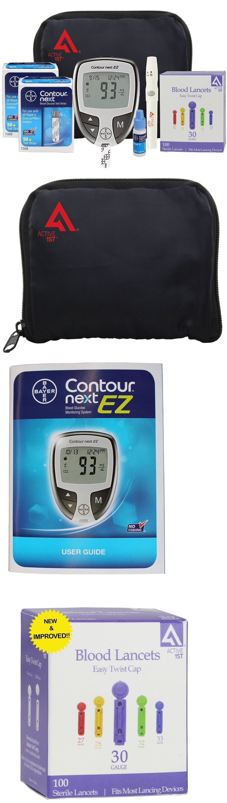 Monitoring Kits: Active1st Bayer Contour Next Complete Diabetes Testing Kit 100 Strips -> BUY IT NOW ONLY: $93.32 on eBay!