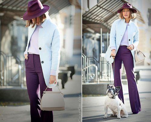 Blue Coat. (by Galant-Girl Ellena) FOR MORE: ... (via Bloglovin.com )