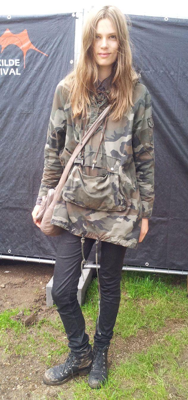 Caroline Brasch Nielsen at Roskilde Festival