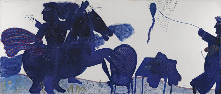 Alecos Fassianos (GREEK) THE RETURN Sotheby's