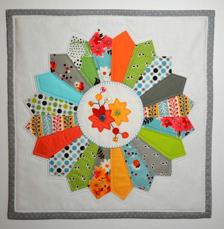 17 Best Images About Color Block On Pinterest: 17 Best Images About Dresden Plate Quilts On Pinterest