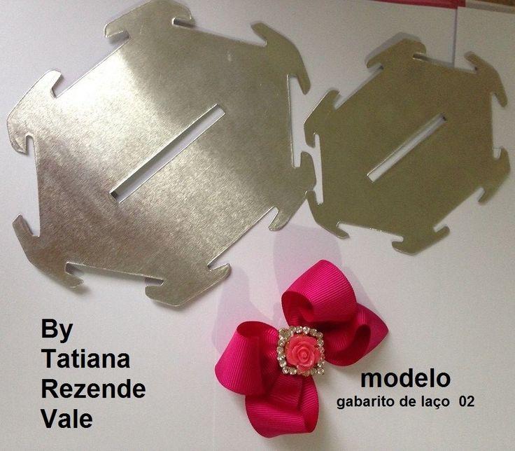 Molde Kit laço boutique -02 - Cristiane M.P.Blanco