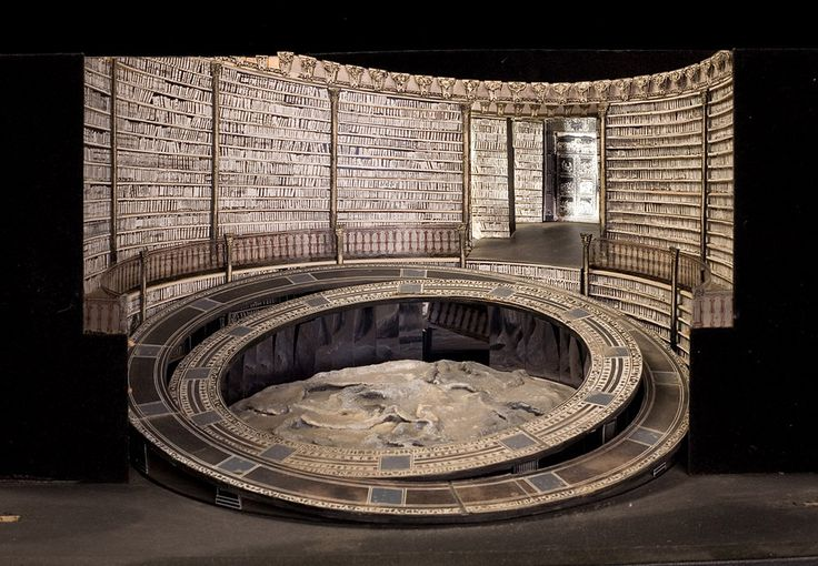 Set model for The Valkyrie, (Wagner) English National Opera 1983