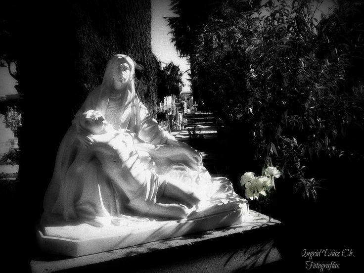 Cementerio de Parral, Chile.
