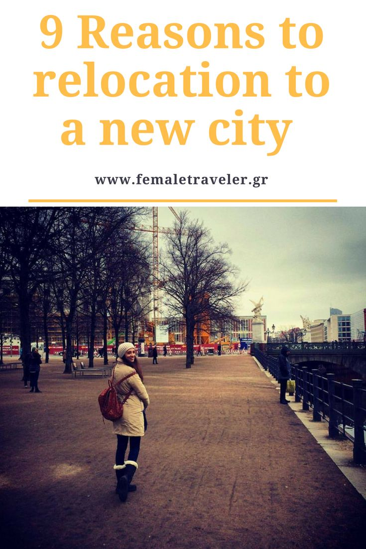 9 Reasons to relocation to a new city *Translation button at the top*
