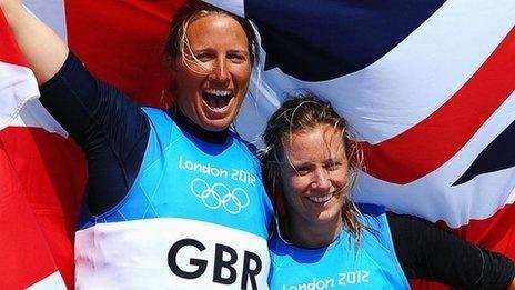 Hannah Mills & Saskia Clark, Women's Sailing Silver