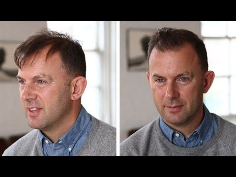 Men's Hairstyle Tutorial: Thin or Thinning Hair - YouTube