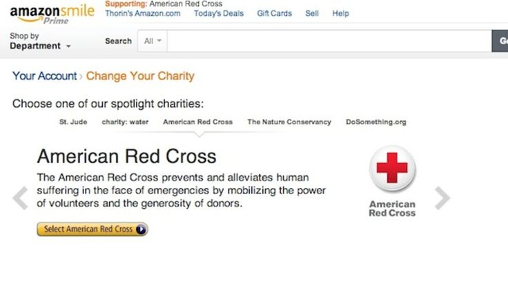 Smile Always Automatically Loads Amazon S Free Charity Donation