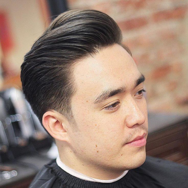 Classic Pompadour short hairstyles for men