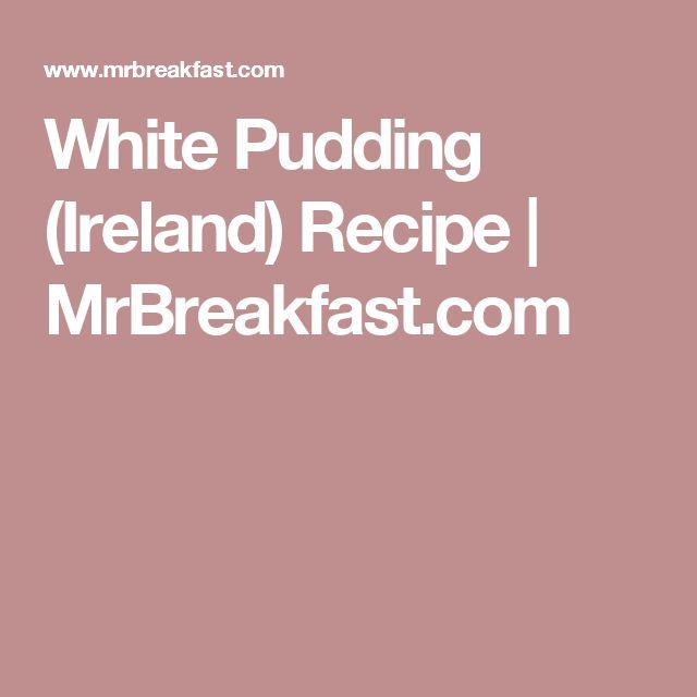 White Pudding (Ireland) Recipe   MrBreakfast.com