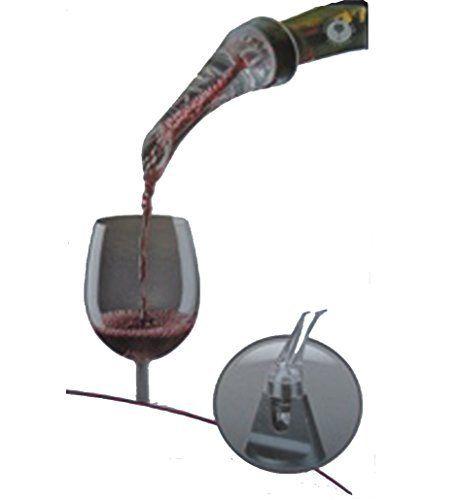 Décanteur de vin Sur Goulot de Bouteille: Aérateur, Décanteur sur goulot de bouteille Avec le décanteur / aérateur de vin, remplacez 2…