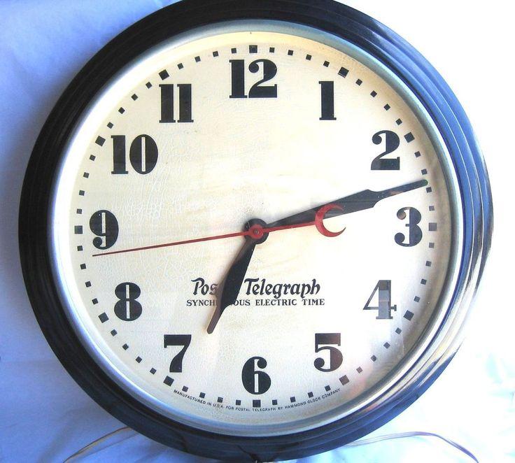 1930 69 clock collectible vintage wall