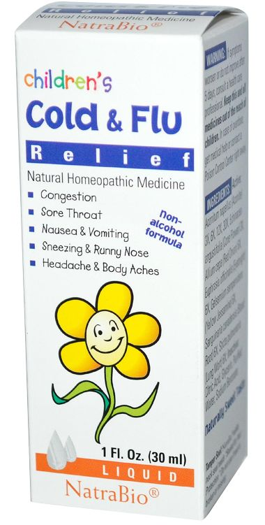 - Description - Product Details Cold & Flu Relief: Relieves symptoms due to the common Cold and Flu: Congestion, sore throat, nausea and vomiting, sneezing and runny nose, headache and body ache. Trea