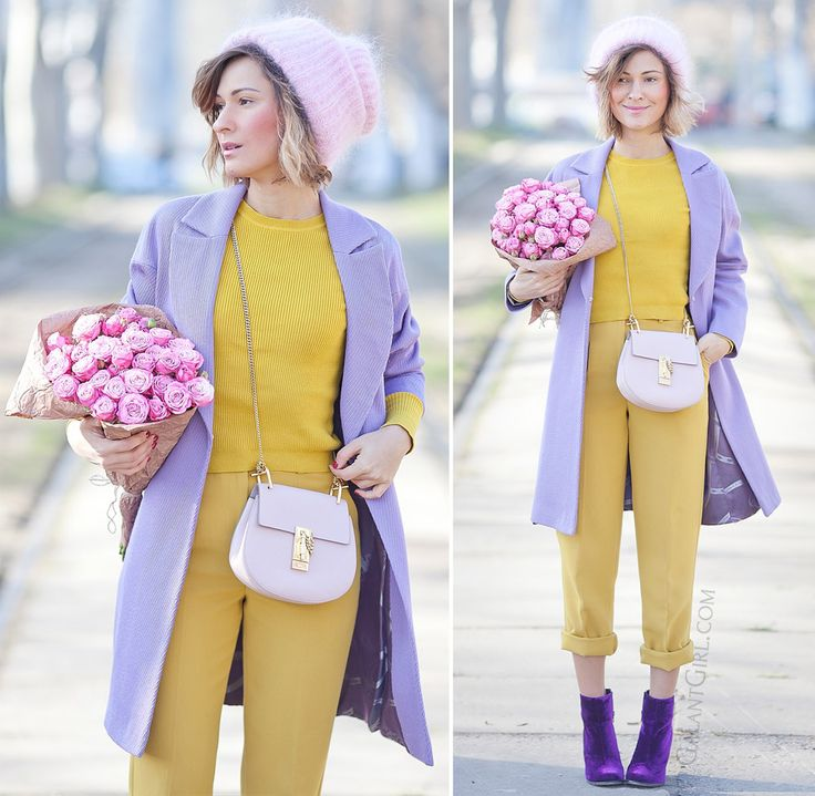 pastel+colors+outfit+for+winter