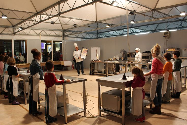 Laboratori di Cioccolato con Andrea Marin