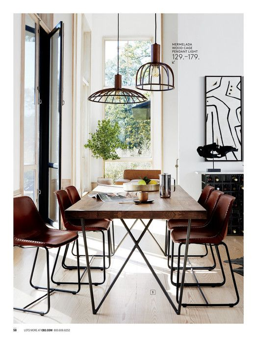 Best Cb2 May Catalog 2018 Roadhouse Leather Chair Dining 400 x 300