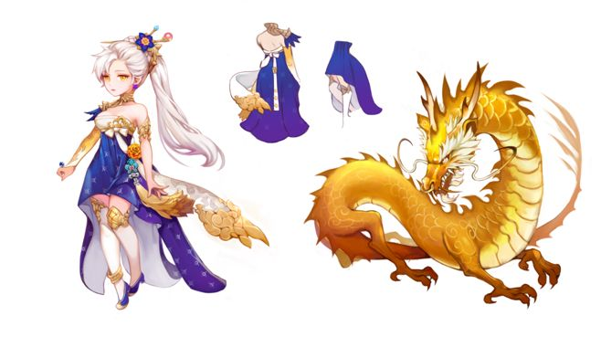 晉com采集到插畫-角色/七騎士/세븐나이츠(277图)_花瓣游戏
