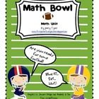 This Math unit includes 5 different activities with a football theme:-Greater than/Less than-Even