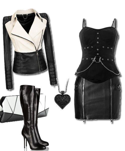 Günün Stili 6 Ocak   Hangi Moda Bugün Hangi Moda?    Günün stili ..    Siyah ve deri ,kadın kışkırtıcılığının etiketi gibi adeta…Kışkırtmaya ne dersiniz?    Maskülen bir karakter siyah ve deriden vazgeçmemeli…