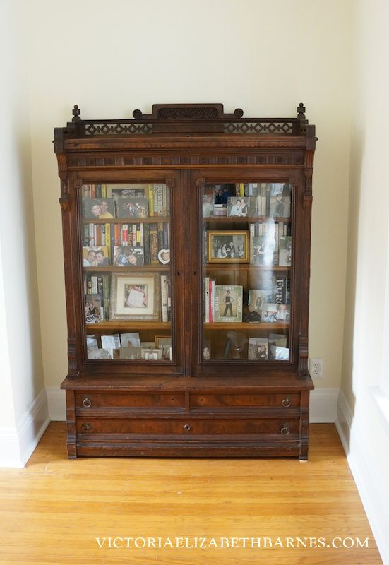 I M Decorating Our Old Victorian House Via Craigslist This Antique Eastlake Bookcase Is