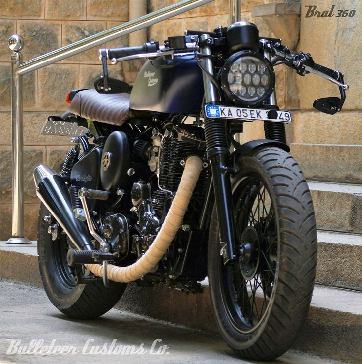 Image result for royal enfield thunderbird modified