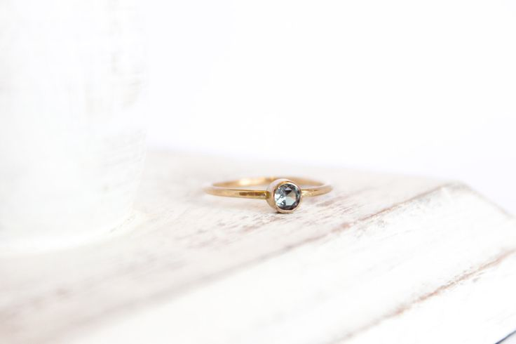 Alexandrite Ring - June Birthstone Ring - 14k Gold Fill or Sterling Silver - Stacking Ring - Simple Ring - Alexandrite Jewelry - Hammered by MinimalistMagnolia on Etsy https://www.etsy.com/listing/210384303/alexandrite-ring-june-birthstone-ring