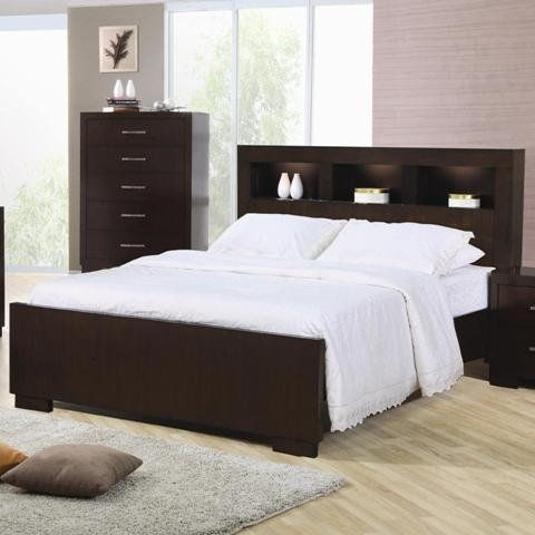 Amazon.com - Coaster Jessica King Bed  I really like the style of the headboard and footboard. Now I just need a bed that's pee vindictive - less free.