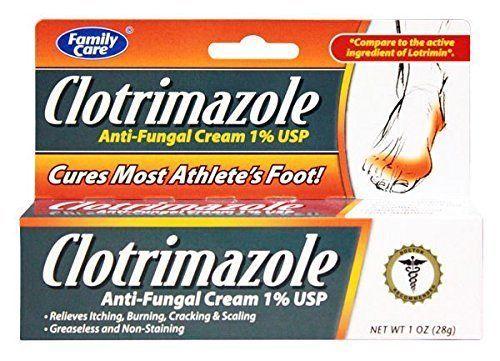 3 Pack  Clotrimazole Anti-Fungal Cream 1% Jock Itch Athletes Foot Ringworm