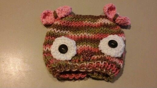 Buho a crochet