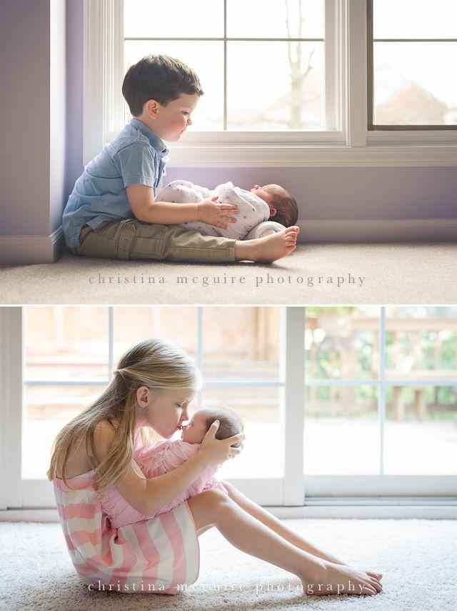 pose, frère, soeur, fratrie, aîné, baiser, lifestyle, assis
