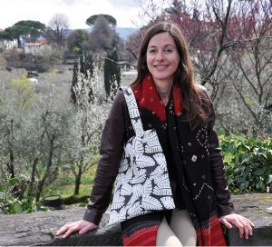 EXPATS IN FLORENCE :: Rebecca Milner Bringing color, patterns, and laughter to Florence