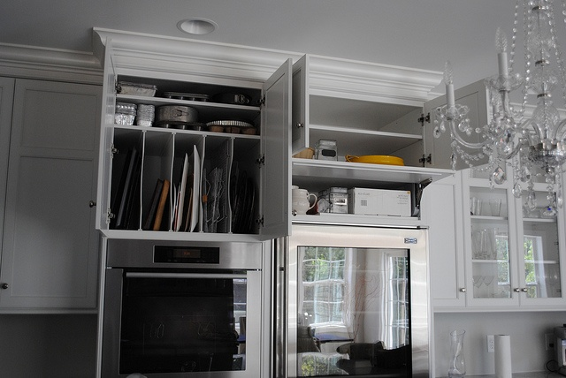 Horizontal & Vertical Storage; Karen Viscito Interiors