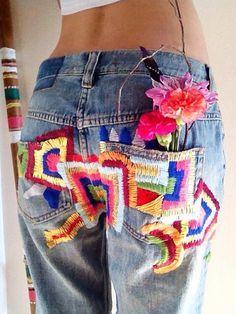 джинсы с разноцветными заплатками: 3 тыс изображений найдено в Яндекс.Картинках