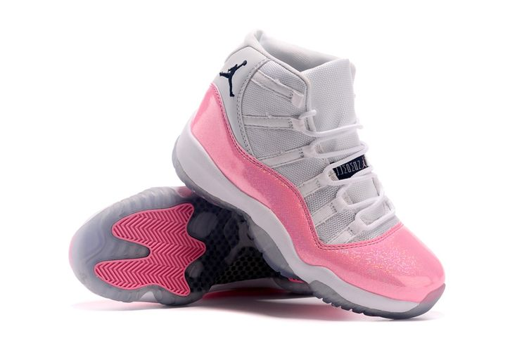 c8941057946a ... Nike Air Jordan 6 Mens Couple  Girls Air Jordan 11 Ladies New Released  White Pink Cheap Sale-3 . ...