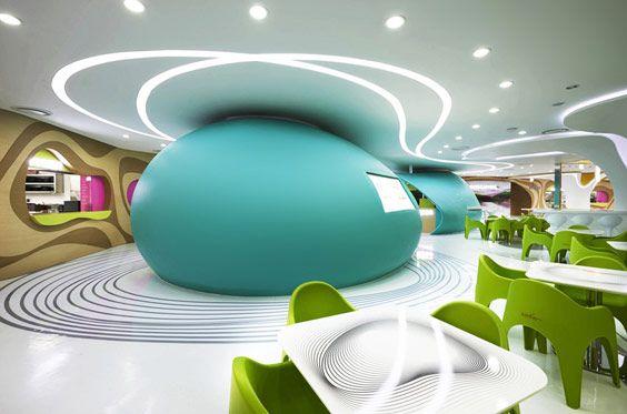 Amoje Food Capital, Food Court, Seoul, Korea