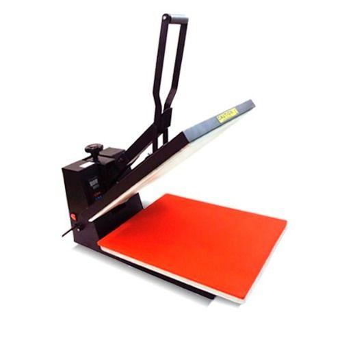 maquina de estampar camisetas e chinelos 38x38 prensa plana