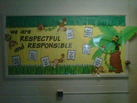 Jungle Theme Bulletin Board