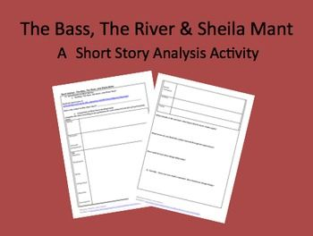 The Bass The River And Sheila Mant Student Reading Guide  The Bass The River And Sheila Mant Student Reading Guide  Education   Student Reading Student Classroom Theme For English B Essay also Who Will Write Assignment  Persuasive Essay Sample High School