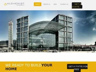 Шаблон портфолио компании разрабатывающей дизайн домов и зданий, сделаны секции демонстрации изображений и описаний, макет вёрстки Bootstrap 3.