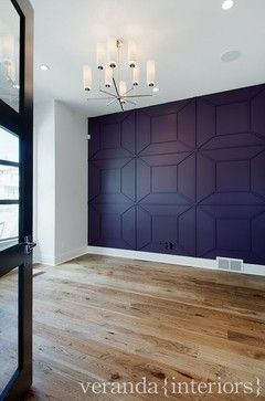 Home Office Photos Purple Design, Pictures, Remodel, Decor and Ideas - page 15 love this wall