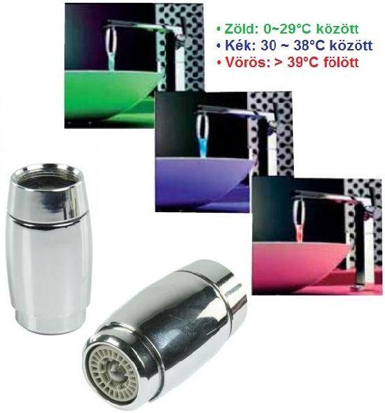 Világító vízesés a vízcsapból! RGB LED csapszűrő, vízszínező. Nos, az élményfürdő megérkezett az otthonodba immár elérhető áron! Moss kezet a fényben...
