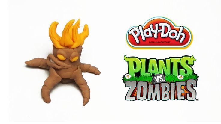 Play-Doh Plants vs Zombies Garden Warfare Torchwood from Plants Vs. Zomb...