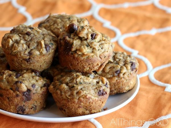 Kid-Approved Pumpkin Zucchini Muffins - they're freezer-friendly, too! | www.allthingsgd.com