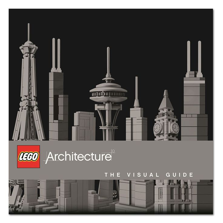 LEGO Architecture: The Visual Guide - Hardcover Book
