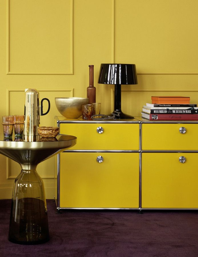 USM #yellow @usmfurniture