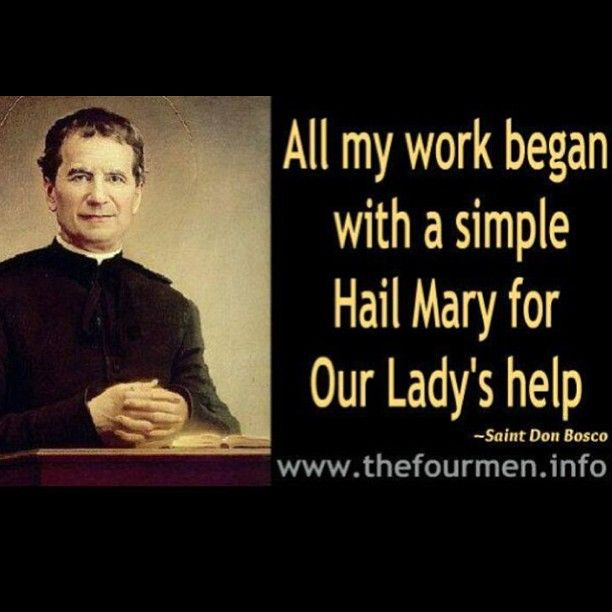 St John Bosco Quotes Education: 102 Best Catholic Saint John Bosco Images On Pinterest