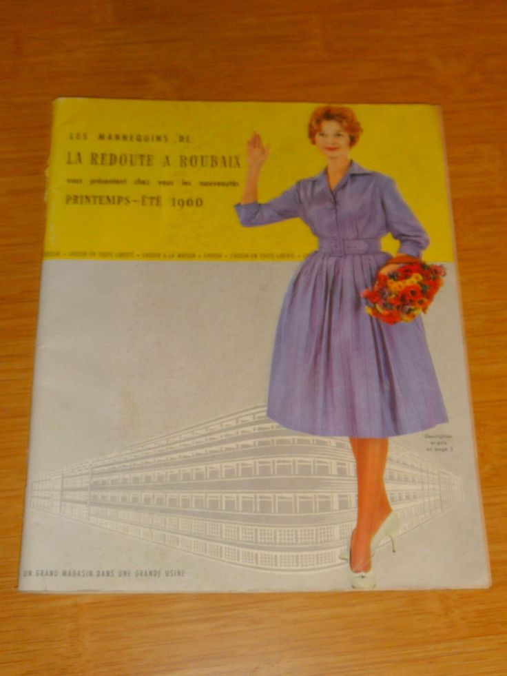 ancien catalogue la redoute 1960 in livres bd revues. Black Bedroom Furniture Sets. Home Design Ideas
