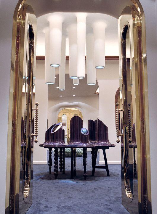 Jaime Hayon - Octium Jewelery. luxury design, high end furniture, luxury furniture, designer furniture