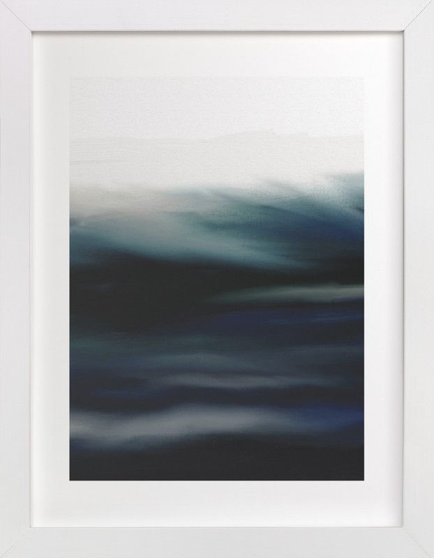"""""""Deep Waters"""" - Art Print by Grae Sales in beautiful frame options and a variety of sizes."""